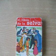 Barajas de cartas: BARAJA EL LIBRO DE LA SELVA HERACLIO FOURNIER 1968. Lote 49750379
