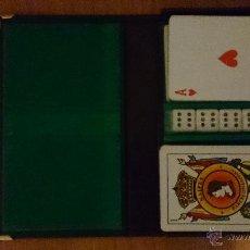 Barajas de cartas: ESTUCHE JUEGO CARTAS-DADOS. Lote 49776385