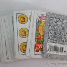 Barajas de cartas: BARAJA ESPAÑOLA FOURNIER REPLICA AÑO 1962, COMPLETAMENTE NUEVA, .. Lote 49987733