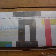 Barajas de cartas: BARAJA NAIPES 48 DISEÑADORES + LIBRO (ESTUCHE COMPLETO Y PRECINTADO). Lote 50045039