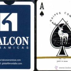 Barajas de cartas: HALCÓN CERÁMICAS - BARAJA POKER. Lote 50106100