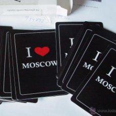 Barajas de cartas: BARAJA DE CARTAS I LOVE MOSCOW MOSCU. Lote 50152807