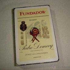 Barajas de cartas: BARAJA CARTAS, HERACLIO FOURNIER - BRANDY FUNDADOR. 40 NAIPES.. Lote 50208377