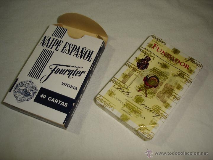 Barajas de cartas: BARAJA CARTAS, HERACLIO FOURNIER - BRANDY FUNDADOR. 40 NAIPES. - Foto 4 - 50208377