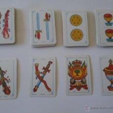 Barajas de cartas: MINI BARAJA ESPAÑOLA INFANTIL AÑOS 70. Lote 50236889