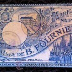 Barajas de cartas: BARAJA ESPAÑOLA MARFIL 1ª BURGOS JUEGO DEL GOLFO HIJA DE B. FOURNIER SL AZUL *NUMISBUR*. Lote 224479882