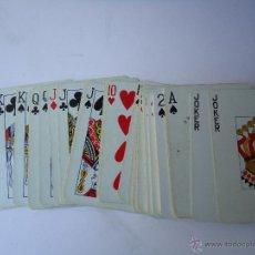 Barajas de cartas: BARAJA DE CARTAS FRANCESA, EL GALLO, 55,NAIPES.DE POKER, EL DORSO EL GALLO AZUL. VER DATOS. Lote 50485838