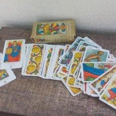 Barajas de cartas: NUEVO TAROT DE MARSELLA. BARAJA DE CARTAS COMPLETA, CON 78 CARTAS.. Lote 50530420