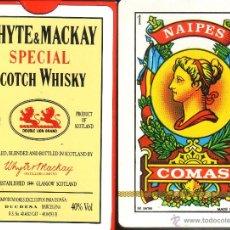 Barajas de cartas: WHYTE & MACKAY SCOTCH WHISKY - BARAJA ESPAÑOLA 50 CARTAS. Lote 50547265