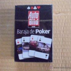 Barajas de cartas: BARAJA DE POKER REVISTA AUTO BILD - PRECINTADA - . Lote 50690748