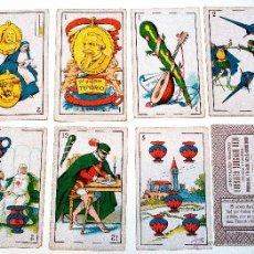 Barajas de cartas: ANTIGUA BARAJA COMPLETA DE DON JUAN TENORIO DE ZORRILLA. CHOCOLATES EVARISTO JUNCOSA HIJO. NAIPES.. Lote 50705193