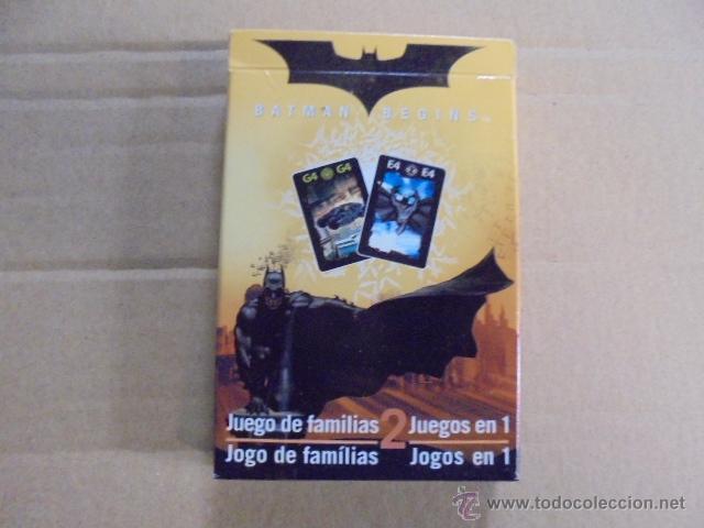 CARTA MUNDI / BELGICA - NAIPES BATMAN - JUEGO E FAMILIAS - A ESTRENAR (Juguetes y Juegos - Cartas y Naipes - Barajas Infantiles)