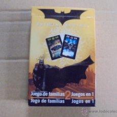 Barajas de cartas: CARTA MUNDI / BELGICA - NAIPES BATMAN - JUEGO E FAMILIAS - A ESTRENAR - SIN ESTAFA EN PORTES !!!. Lote 50794101