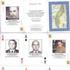 Barajas de cartas: BARAJA DE CUBA WANTED. Lote 50816088