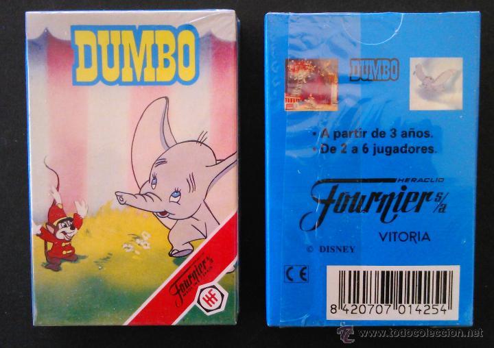 BARAJA INFANTIL FOURNIER -DUMBO DE WALT DISNEY - MIB (Juguetes y Juegos - Cartas y Naipes - Barajas Infantiles)