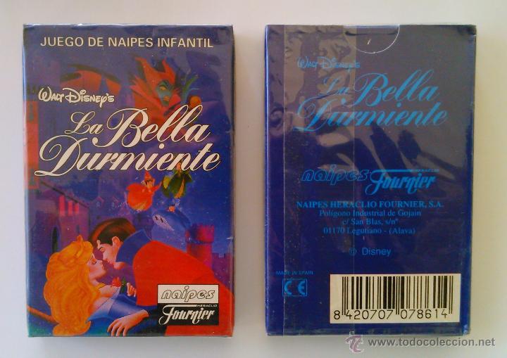 BARAJA INFANTIL FOURNIER -LA BELLA DURMIENTE DE WALT DISNEY - MIB (Juguetes y Juegos - Cartas y Naipes - Barajas Infantiles)