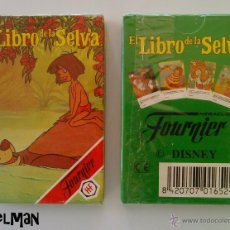 Jeux de cartes: BARAJA INFANTIL FOURNIER - EL LIBRO DE LA SELVA DE WALT DISNEY - MIB. Lote 152808022