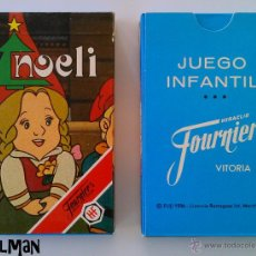 Barajas de cartas: BARAJA INFANTIL FOURNIER - NOELI - MIB - A ESTRENAR. Lote 210720590