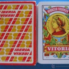 Barajas de cartas: BARAJA DE CARTAS ESPAÑOLA. FOURNIER. AEROLÍNEAS IBERIA. AÑOS 80.. Lote 50863946