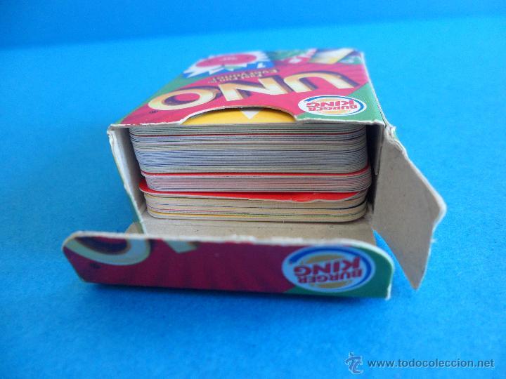 Barajas de cartas: Juego de cartas UNO Burger King - Frutas - 2015 Mattel - Foto 6 - 57439061