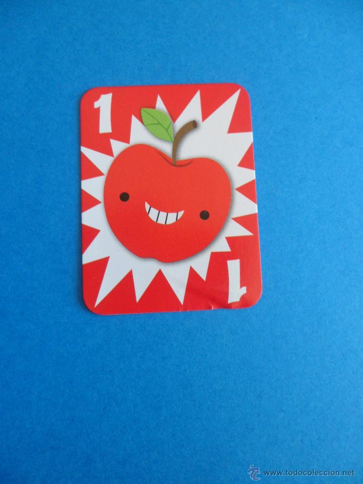Barajas de cartas: Juego de cartas UNO Burger King - Frutas - 2015 Mattel - Foto 10 - 57439061