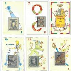 Barajas de cartas: BARAJA ESPAÑOLA DE FILATELIA-SELLOS LOCALES Y PRO(A FAVOR DE)-AÑO 2005. Lote 50964860