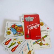 Barajas de cartas: MUESTRARIO HERACLIO FOURNIER 23 NAIPES BARAJA ESPAÑOLA Y DE POKER, DISTINTOS TAMAÑOS. Lote 50966876