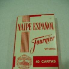 Barajas de cartas: BARAJA DE NAIPES ESPAÑOL. HERACLIO FOURNIER. VITORIA. Lote 51014537