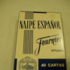Barajas de cartas: BARAJA DE NAIPES ESPAÑOL. HERACLIO FOURNIER. VITORIA. Lote 51014567