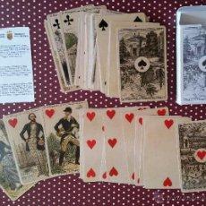 Barajas de cartas: GOM-657_FACSIMIL BARAJA CARTAS FRANCIA SIGLO XIX. Lote 51016954