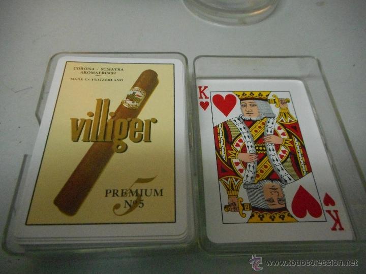 BARAJA CARTAS TABACO PUROS VILLIGER NUEVAS (Juguetes y Juegos - Cartas y Naipes - Otras Barajas)