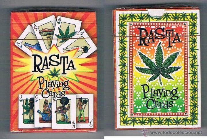 BARAJA NAIPES PÓKER RASTA PLAYING CARDS NUEVA PRECINTADA (Juguetes y Juegos - Cartas y Naipes - Otras Barajas)