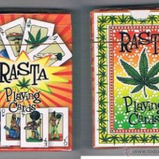 Barajas de cartas: BARAJA NAIPES PÓKER RASTA PLAYING CARDS NUEVA PRECINTADA. Lote 51209460