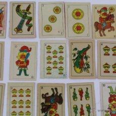 Barajas de cartas: CA-20 BARAJA DE CARTAS INFANTIL. NAIPES CON DIBUJOS COMICOS. COMPLETA. Lote 51224836