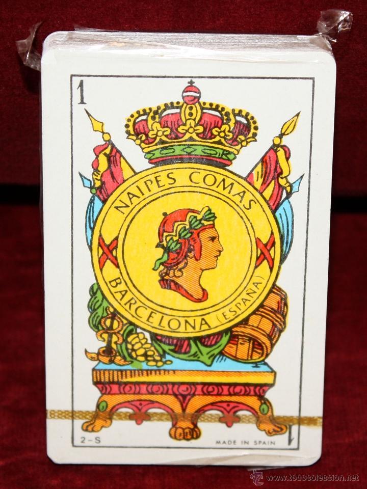 BARAJA DE NAIPES COMAS A ESTRENAR. FLOR DE CUÑO (Juguetes y Juegos - Cartas y Naipes - Otras Barajas)