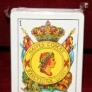 Barajas de cartas: BARAJA DE NAIPES COMAS A ESTRENAR. FLOR DE CUÑO. Lote 51245092