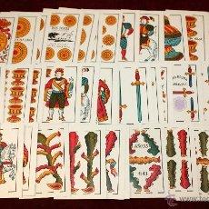 Barajas de cartas: ANTIGUA BARAJA DE NAIPES DE JUAN ROURA (DOS TOROS, MARCA REGISTRADA) JUDITH GUANCO. EXCELENTE ESTADO. Lote 51245267