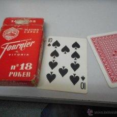Barajas de cartas: BARAJA CARTAS FOURNIER NUMERO 18 POKER. Lote 51246057