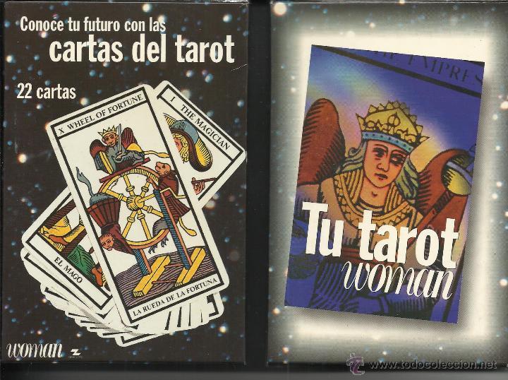 CARTAS DEL TAROT EN CAJA Y CON LIBRO (Juguetes y Juegos - Cartas y Naipes - Barajas Tarot)
