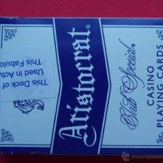 Barajas de cartas: BARAJAS DE CARTAS POKER ARISTOCRAT LAKE TAHOE. Lote 51361784