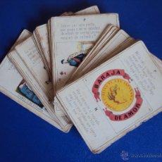 Barajas de cartas: (PA-098)BARAJA DE AMOR.ISABEL 2ª REINA DE LAS ESPAÑAS (1850-1860). Lote 51397448