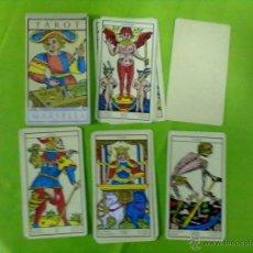 Barajas de cartas: 22 ARCANOS MAYORES TAROT MARSELLA. Lote 51404916