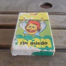 Barajas de cartas: BARAJA DE CARTAS EL JUEGO DE JUAN SIN MIEDO DE EDICIONES RECREATIVA 1979 COMPLETA. Lote 51413278