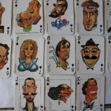 Barajas de cartas: BARAJA DE CARTAS DE EL JUEVES. 52 CARTAS, COMPLETA. PERSONAJES. (VER FOTOGRAFÍAS). Lote 51420748