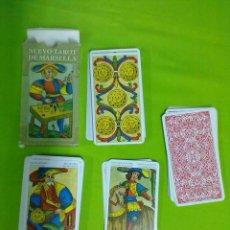 Barajas de cartas: LO SCARABEO NUEVO TAROT DE MARSELLA. Lote 51523604