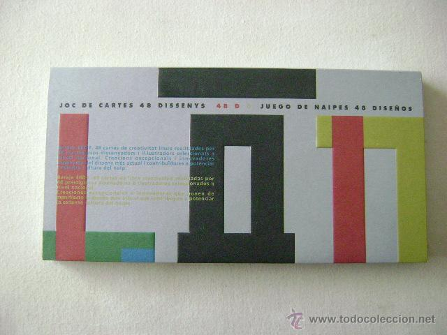 Barajas de cartas: JOC DE CARTES 48 DISSENYS .N-113 - Foto 2 - 51633014