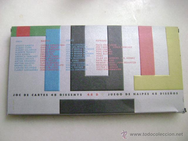 Barajas de cartas: JOC DE CARTES 48 DISSENYS .N-113 - Foto 3 - 51633014