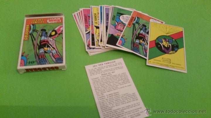ANTIGUA BARAJA DE CARTAS MAZINGER Z GOLDORAK.COMPLETA.AÑO 1978 (Juguetes y Juegos - Cartas y Naipes - Barajas Infantiles)