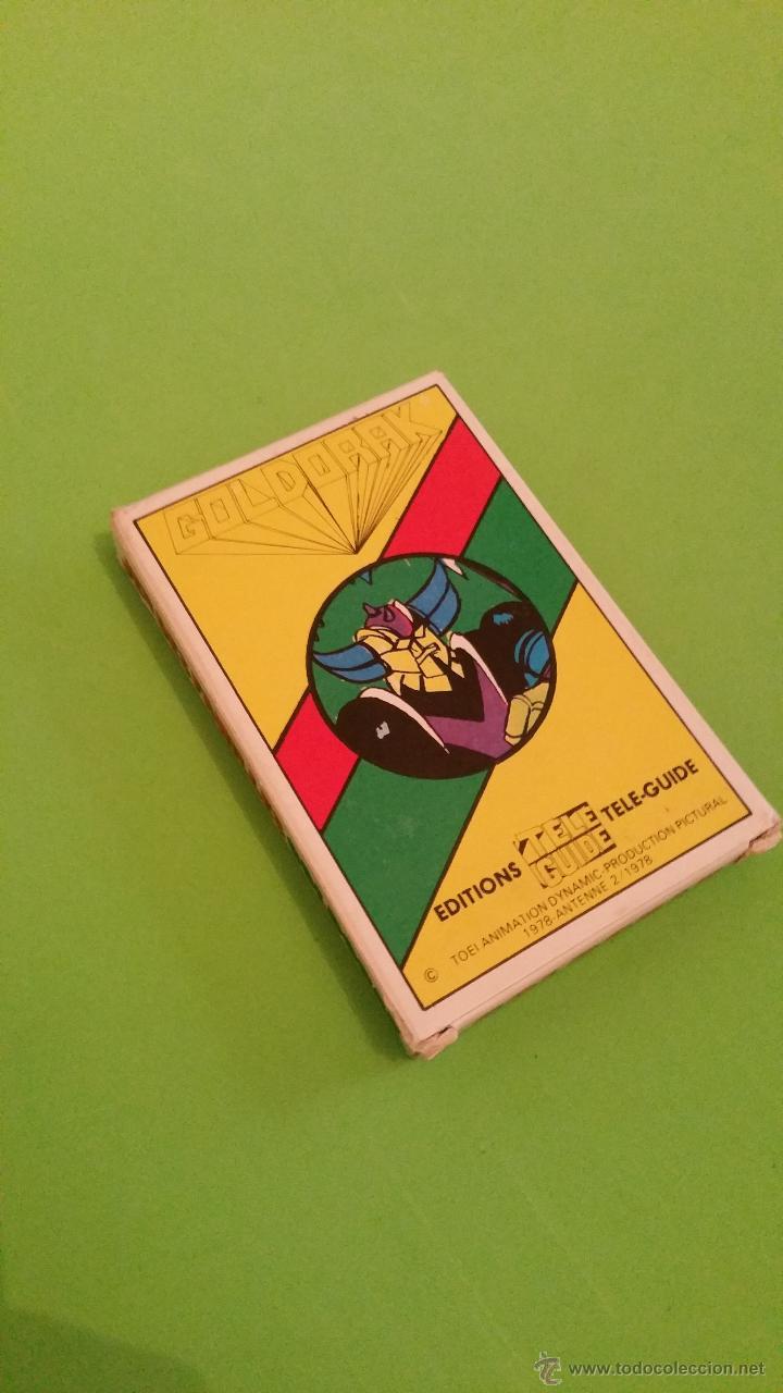 Barajas de cartas: Antigua baraja de cartas Mazinger Z Goldorak.Completa.Año 1978 - Foto 2 - 55797695