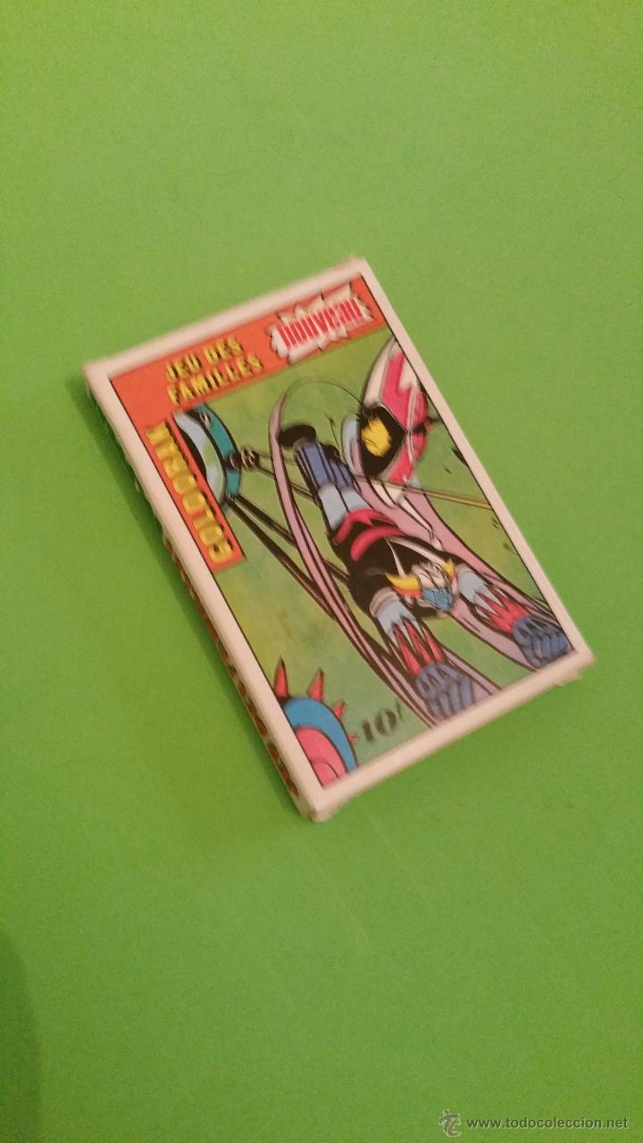 Barajas de cartas: Antigua baraja de cartas Mazinger Z Goldorak.Completa.Año 1978 - Foto 3 - 55797695